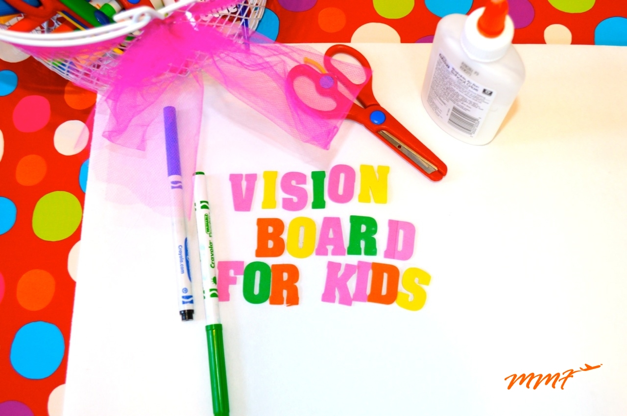 Vision Board For Kids