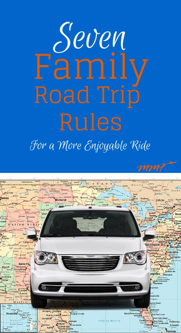 Seven Family Road Trip Rule