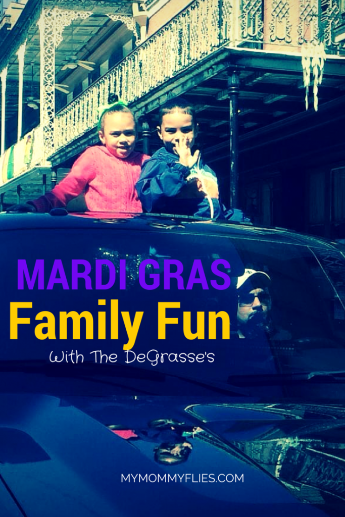 Mardi Gras Family Fun With The DeGrasse's