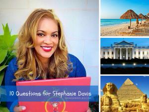 10 Questions For Stephanie Davis