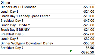 My Disney Cruise Vacation Budget and Expenses - My Mommy Flies