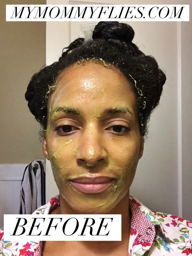 Quick and Easy Avocado Hair Face Mask