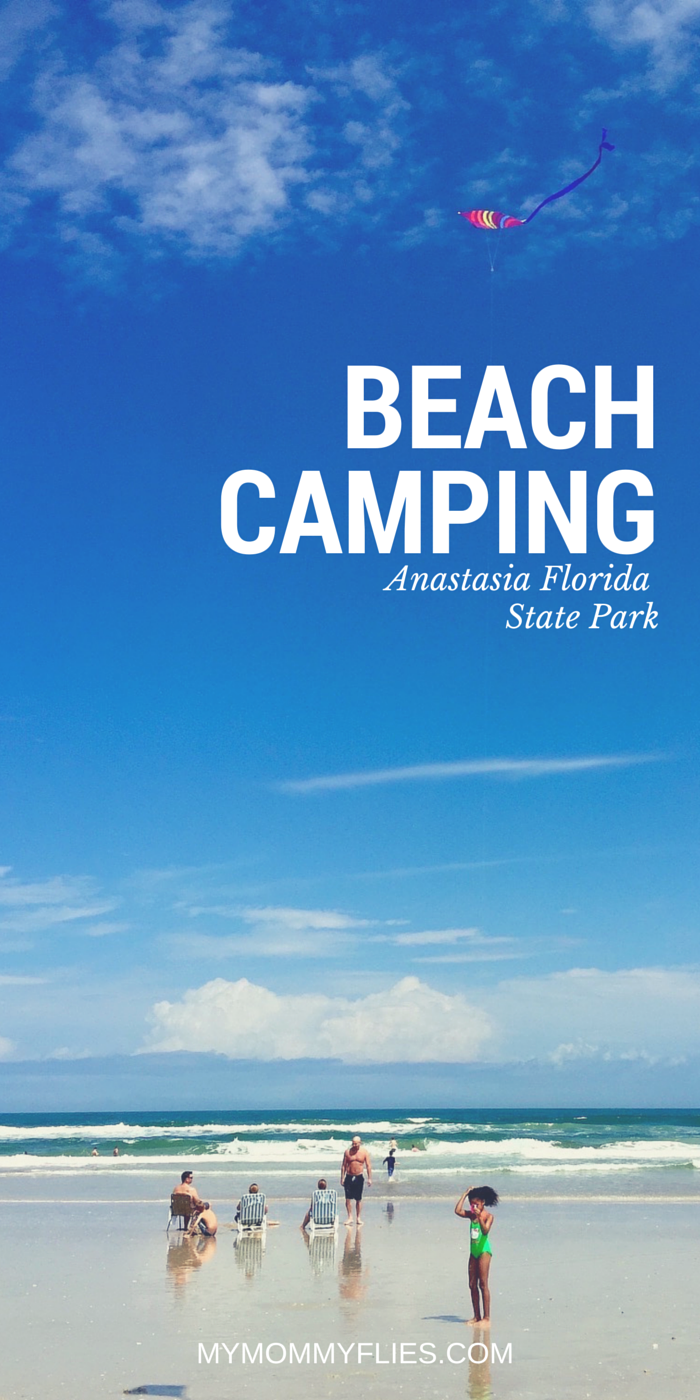 Beach Camping at Anastasia State Park