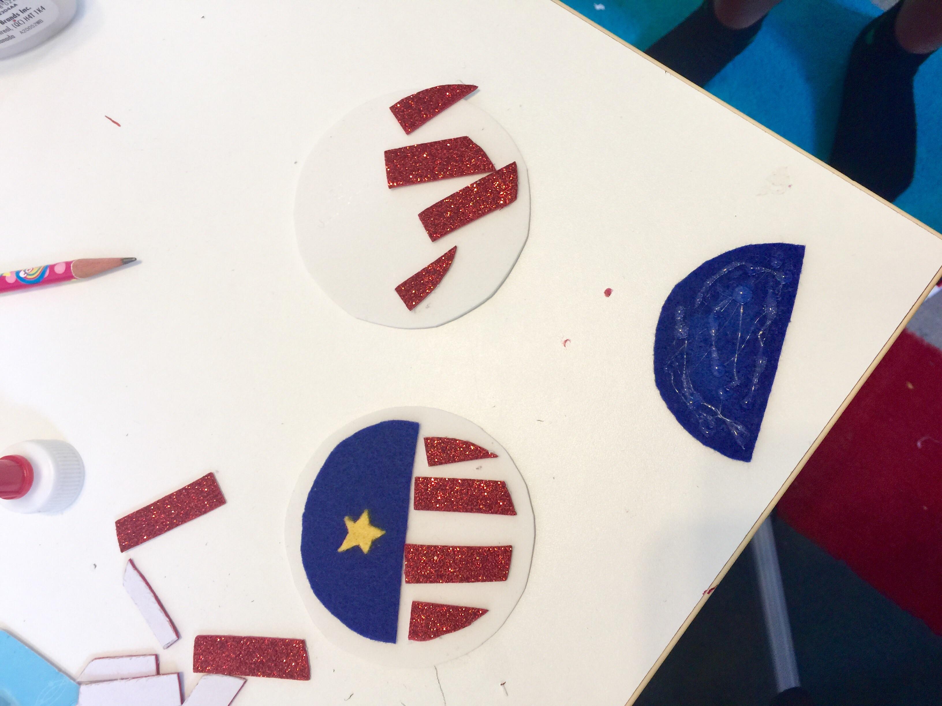 DIY Kayla the Great White House Pin