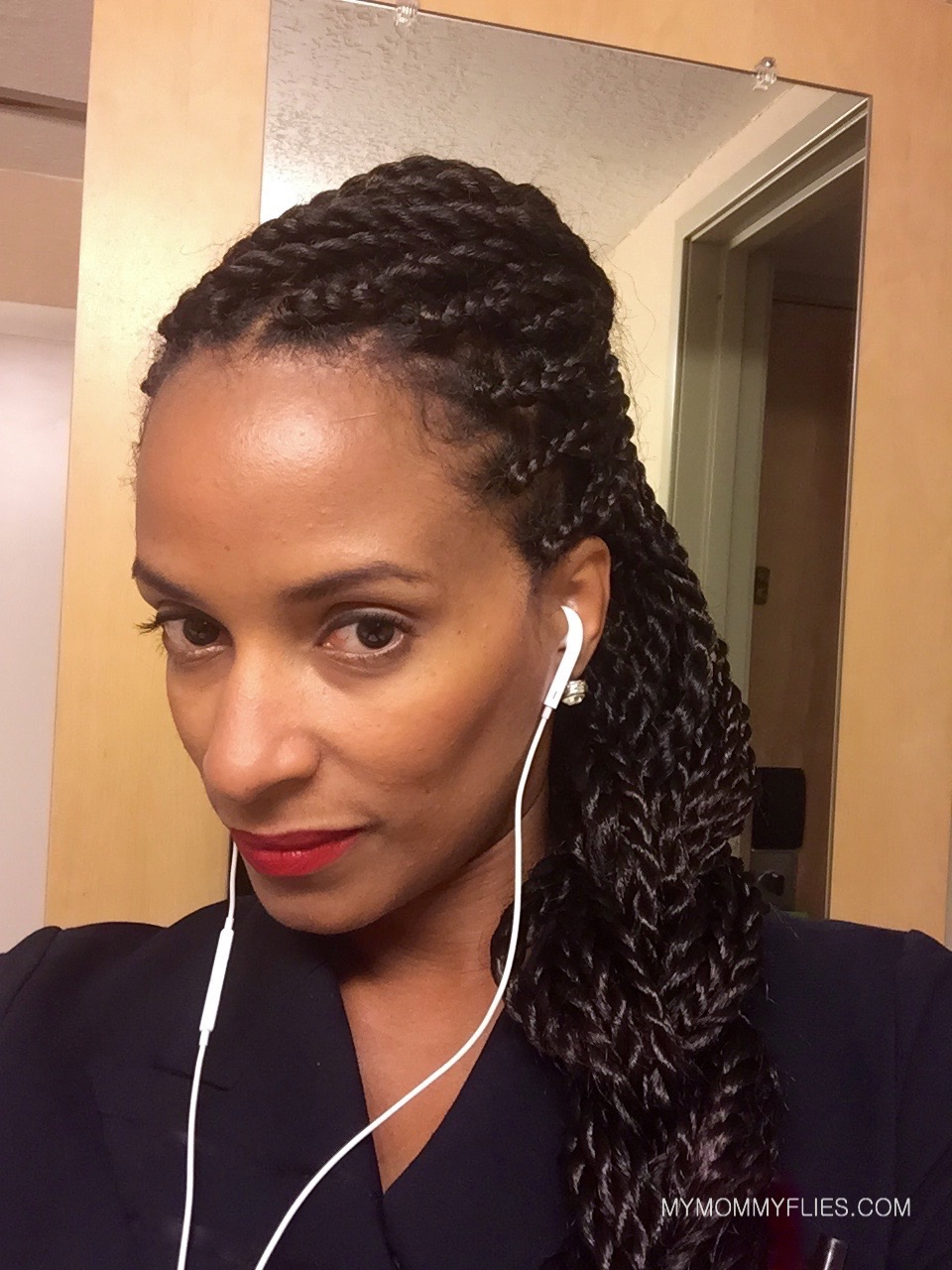 Magnificent 15 Easy Senegalese Twists Hair Styles For Travel My Mommy Flies Short Hairstyles Gunalazisus