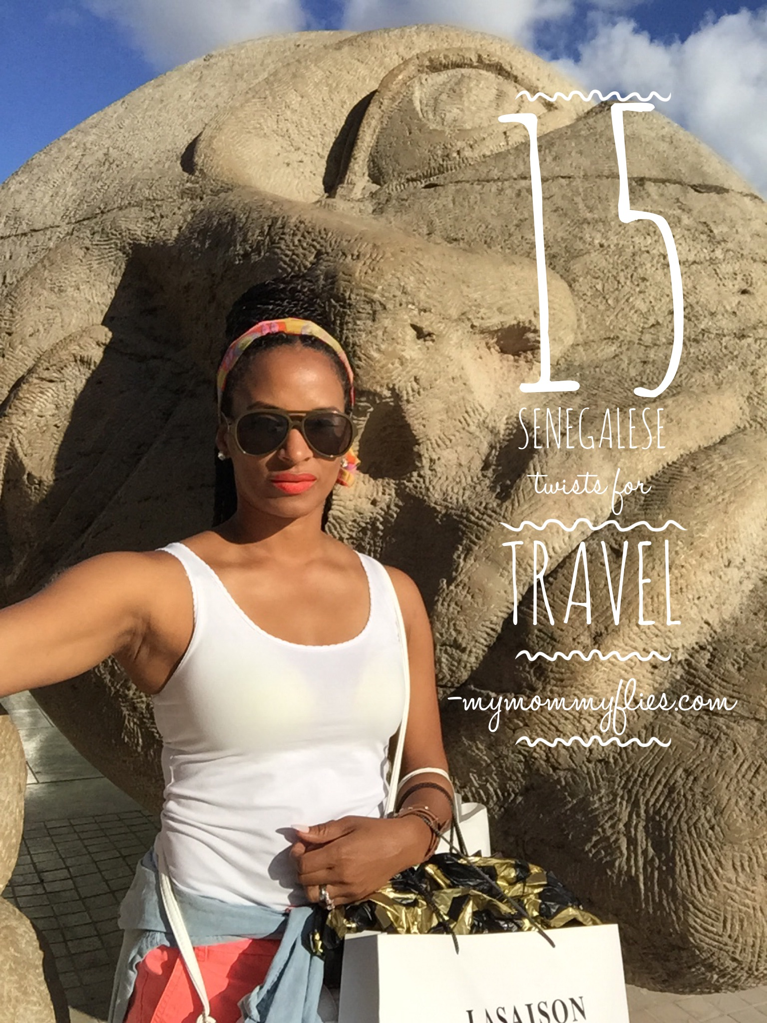 Surprising 15 Easy Senegalese Twists Hair Styles For Travel My Mommy Flies Short Hairstyles Gunalazisus
