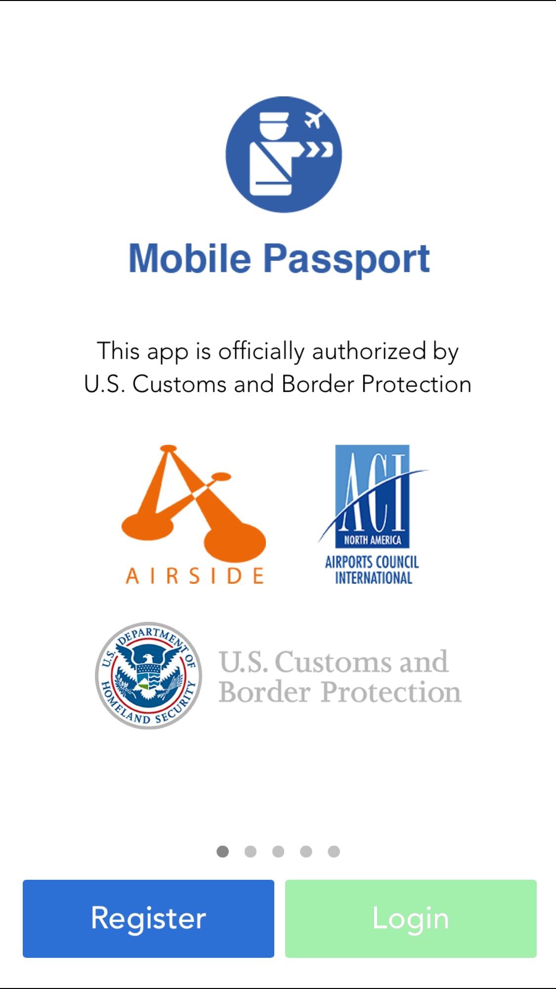 New Mobile Passport Control App