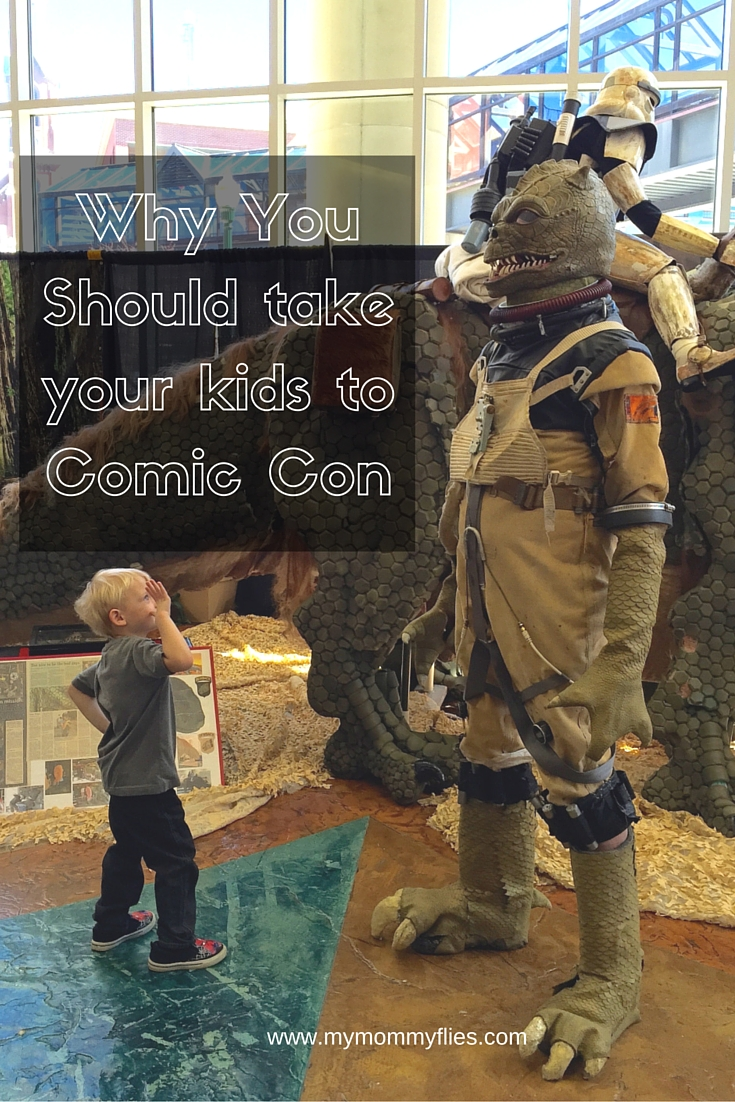 Why You Should take Your Kids to Comic Con