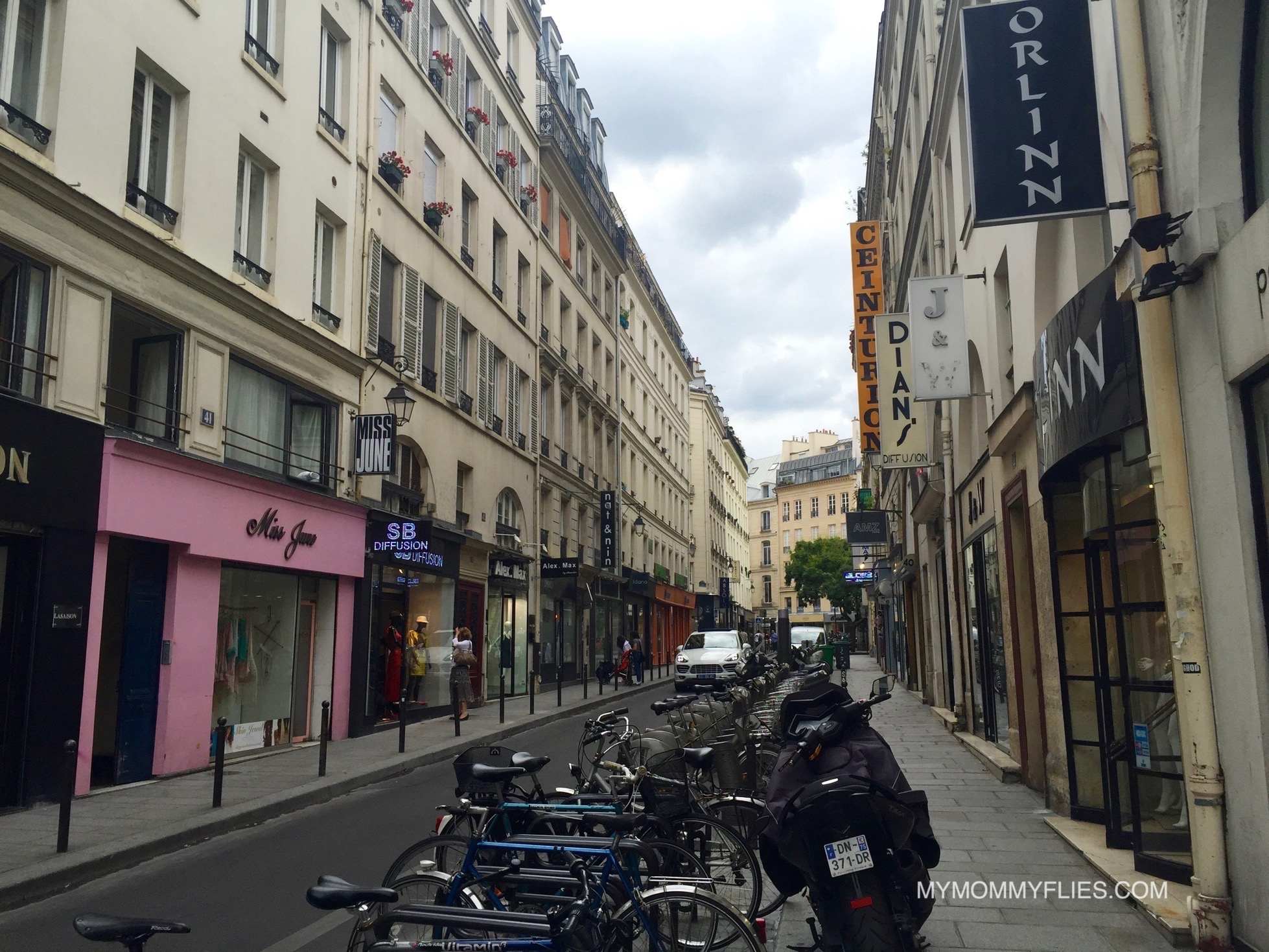 tips for shopping paris garment district my mommy flies. Black Bedroom Furniture Sets. Home Design Ideas